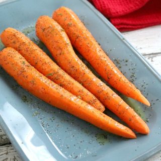 Easy Oven Roasted Carrots