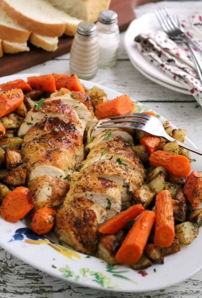 Perfectly Roasted Chicken Breasts Kitchen Dreaming