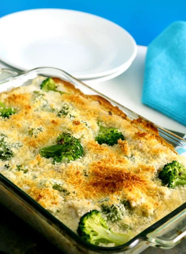 Creamy Turkey Rice Casserole