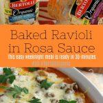 Baked Ravioli in Rosa Pasta Sauce 1PT