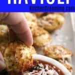 Air Fryer Ravioli MAIN