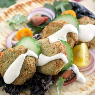 Easy Air Fryer Falafel