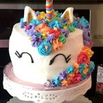 Make your next party magical with this Mystical Rainbow Unicorn cake. #Kids #Birthday #Party #Ideas