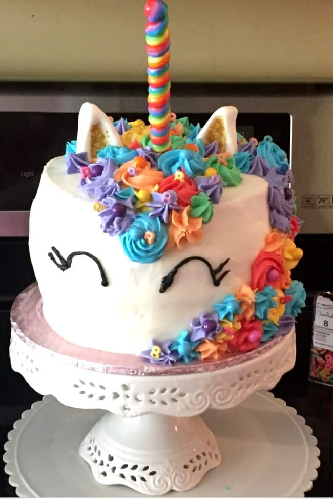 Kids Birthday Party Ideas Mystical Unicorn Cake