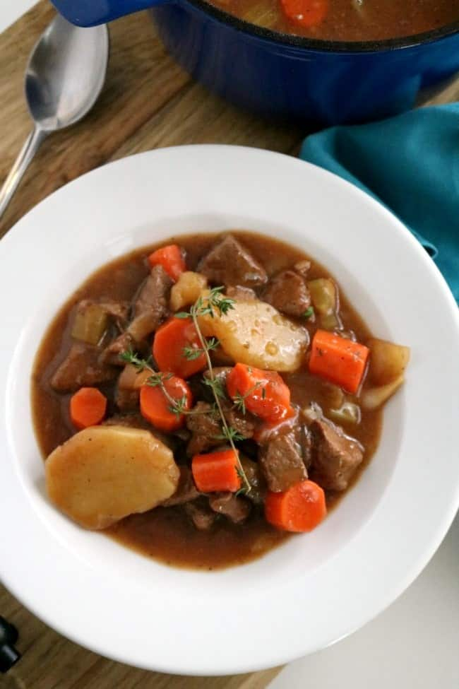 Bowl of Irish Beef & Guinness Stew