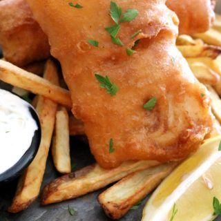 British style Fried Fish and Chips 4