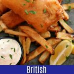 British style Fried Fish and Chips 5PT