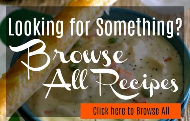 Browse All Recipes Banner