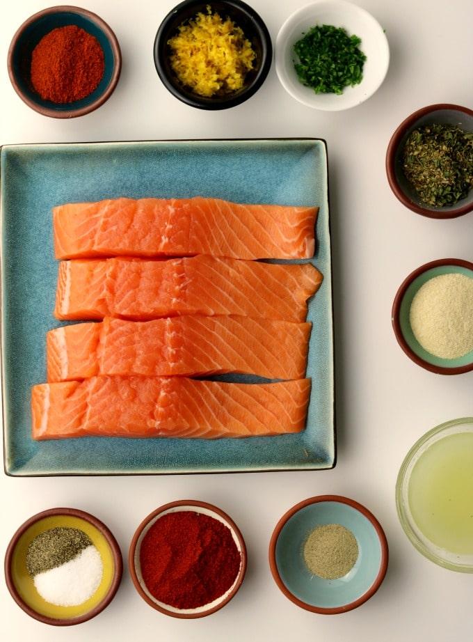 cajun baked salmon ingredients