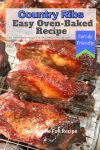 easy oven baked country pork ribs 2
