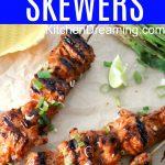Korean Chicken Skewers MAIN