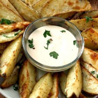 Parmesan Ranch Roasted Potatoes 2