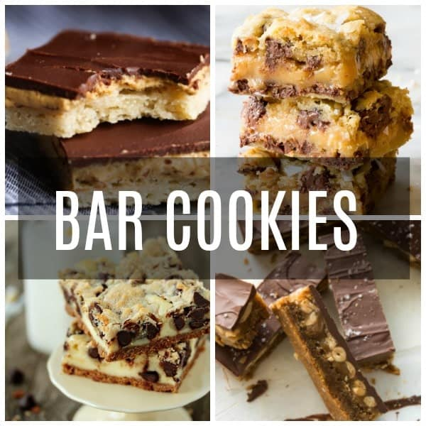 Bar Cookies Collage