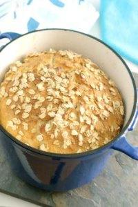 No Knead oatmeat bread 4 650