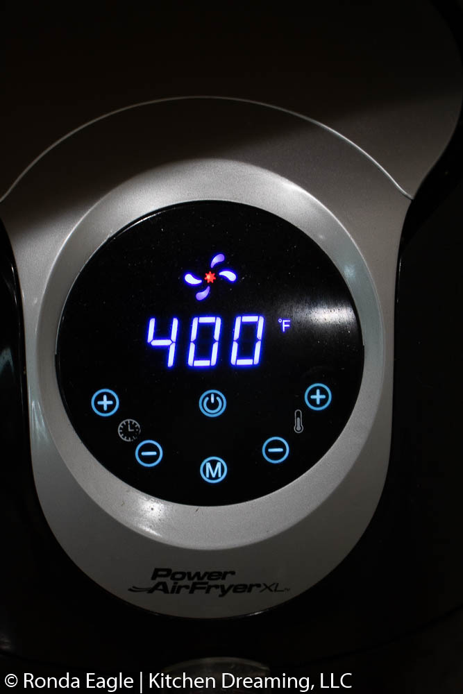 Set the Temperature.