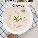 New England clam chowder 13