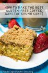 How to make the Best gluten free Coffee cake GF Crumb Cake 1