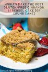 How to make the Best gluten free Coffee cake GF Crumb Cake 3