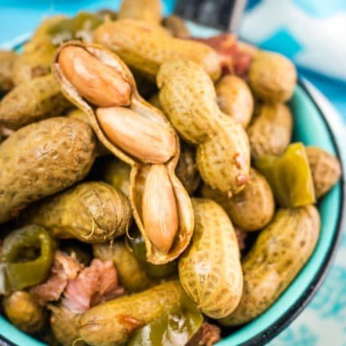 Crock Pot Cajun Boiled Peanuts 5